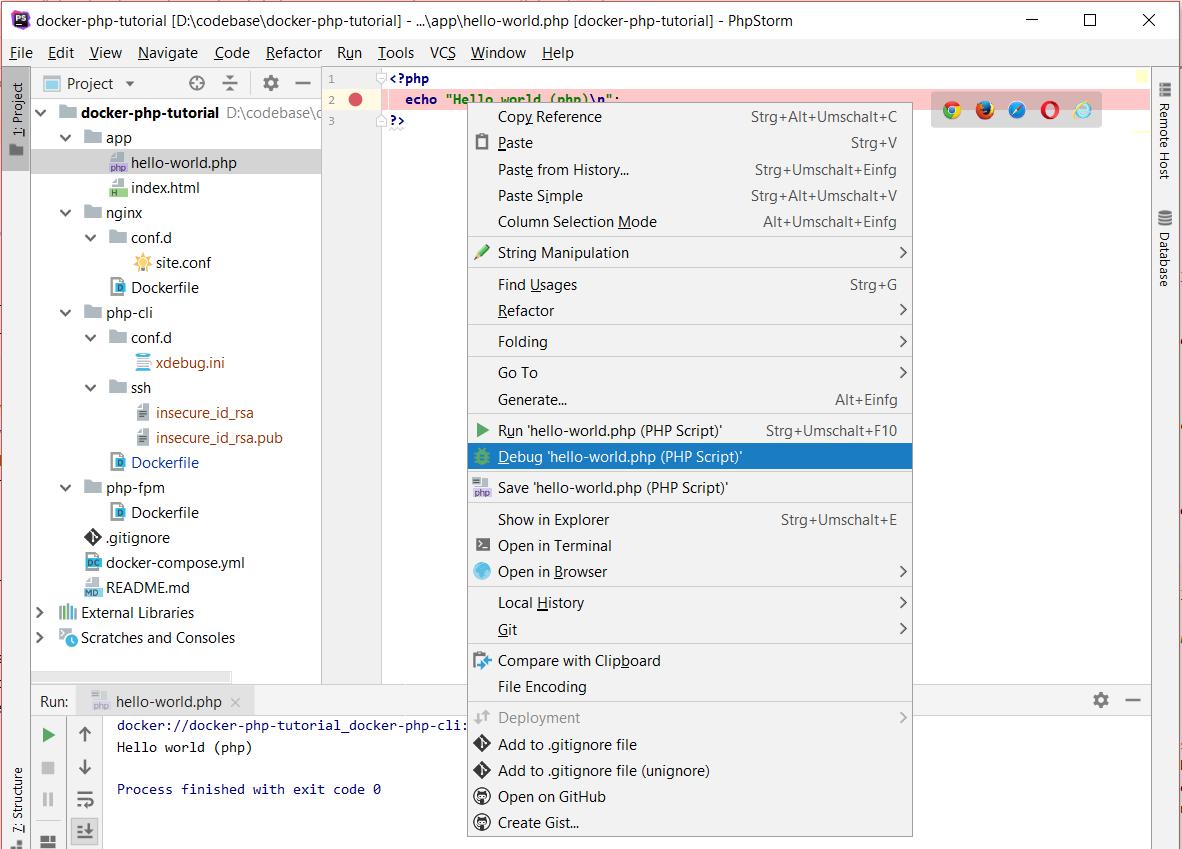 How to setup PhpStorm with Xdebug on Docker [Tutorial Part 2